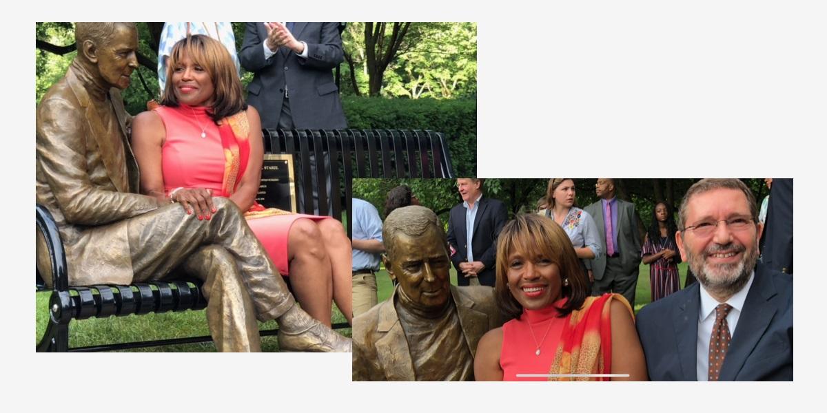 Inaugurazione della statua ed il film sulla vita Thomas E. Starzl - Ignazio Marino